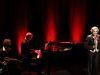 """16.02.2019 Annette PostelPremiere mit """"alles Tango oder was? im Tollhaus Karlsruhe mitNorbert Kotzan, Bandoneon und Bobbi Fischer, Piano"""