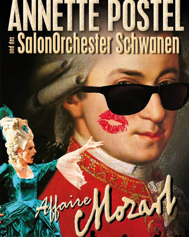 Plakatfoto Affaire Mozart