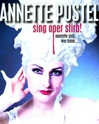 Plakatfoto Sing oper stirb